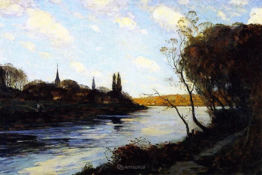 他笔下的冬季景观,很不一样,美!法裔加拿大画家Clarence Alphonse Gagnon插图17