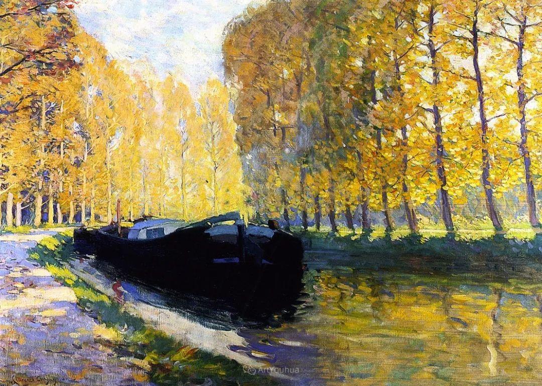 他笔下的冬季景观,很不一样,美!法裔加拿大画家Clarence Alphonse Gagnon插图23