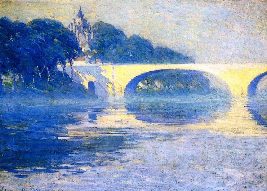 他笔下的冬季景观,很不一样,美!法裔加拿大画家Clarence Alphonse Gagnon插图45