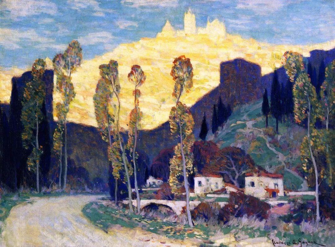 他笔下的冬季景观,很不一样,美!法裔加拿大画家Clarence Alphonse Gagnon插图53