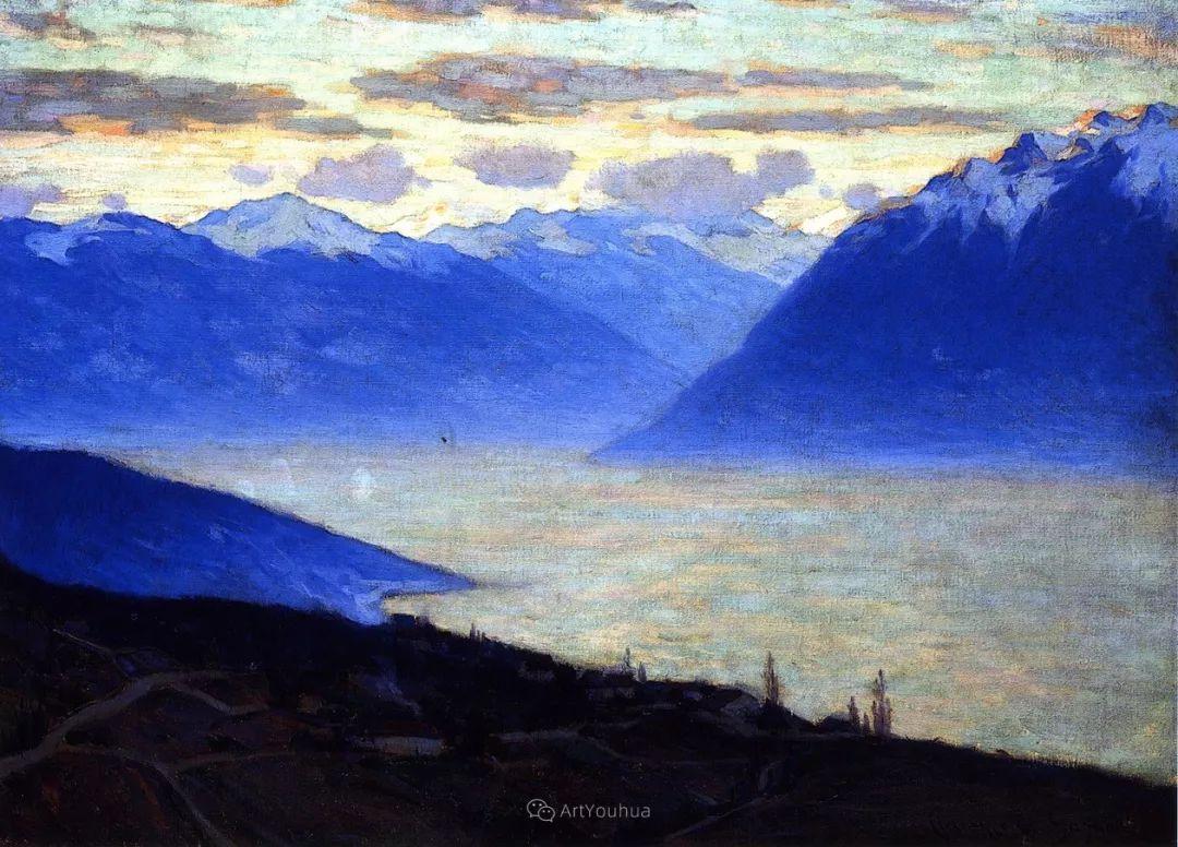 他笔下的冬季景观,很不一样,美!法裔加拿大画家Clarence Alphonse Gagnon插图67