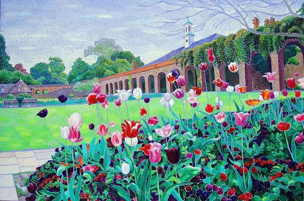 色彩纷繁的鲜花——乌克兰画家Dmitry Dobrovolsky插图3