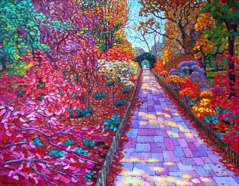 色彩纷繁的鲜花——乌克兰画家Dmitry Dobrovolsky插图23