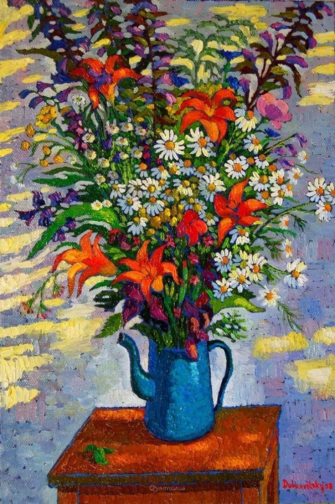 色彩纷繁的鲜花——乌克兰画家Dmitry Dobrovolsky插图27