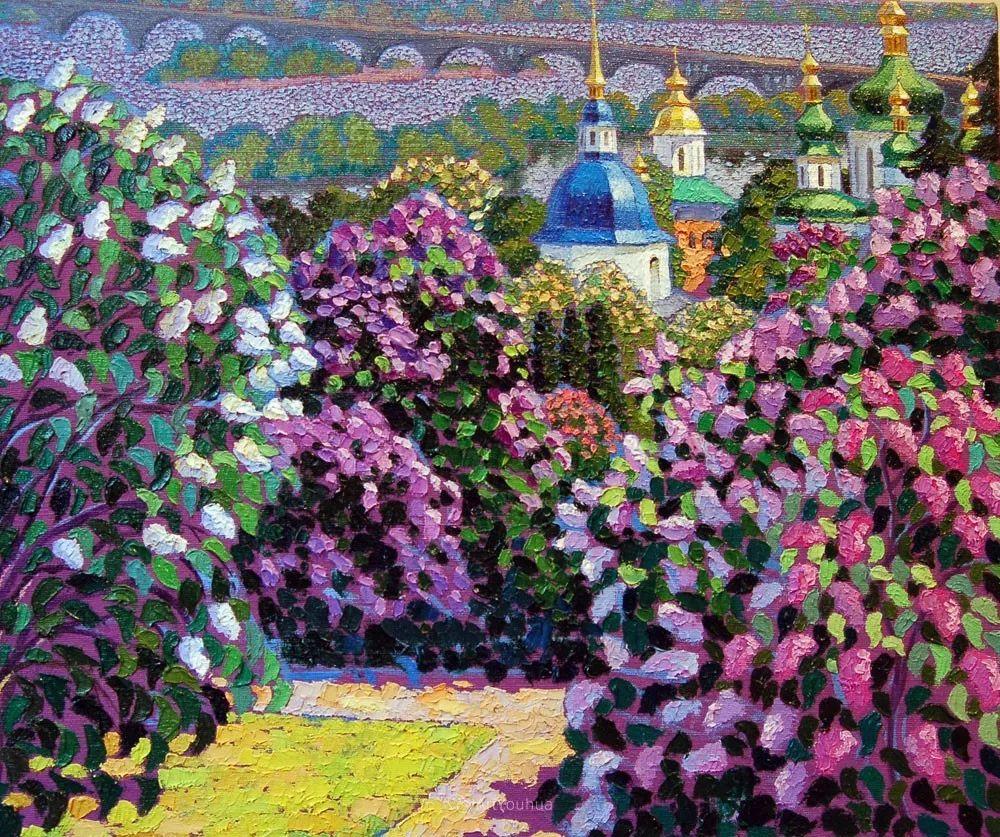色彩纷繁的鲜花——乌克兰画家Dmitry Dobrovolsky插图29