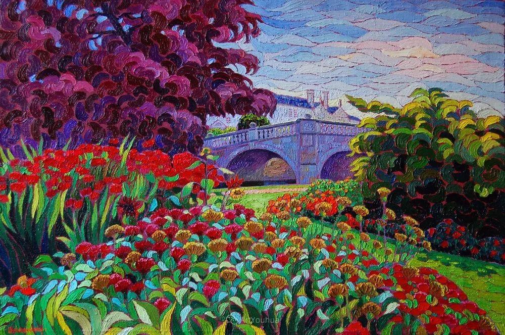 色彩纷繁的鲜花——乌克兰画家Dmitry Dobrovolsky插图33