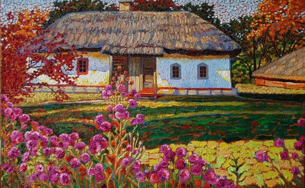 色彩纷繁的鲜花——乌克兰画家Dmitry Dobrovolsky插图39
