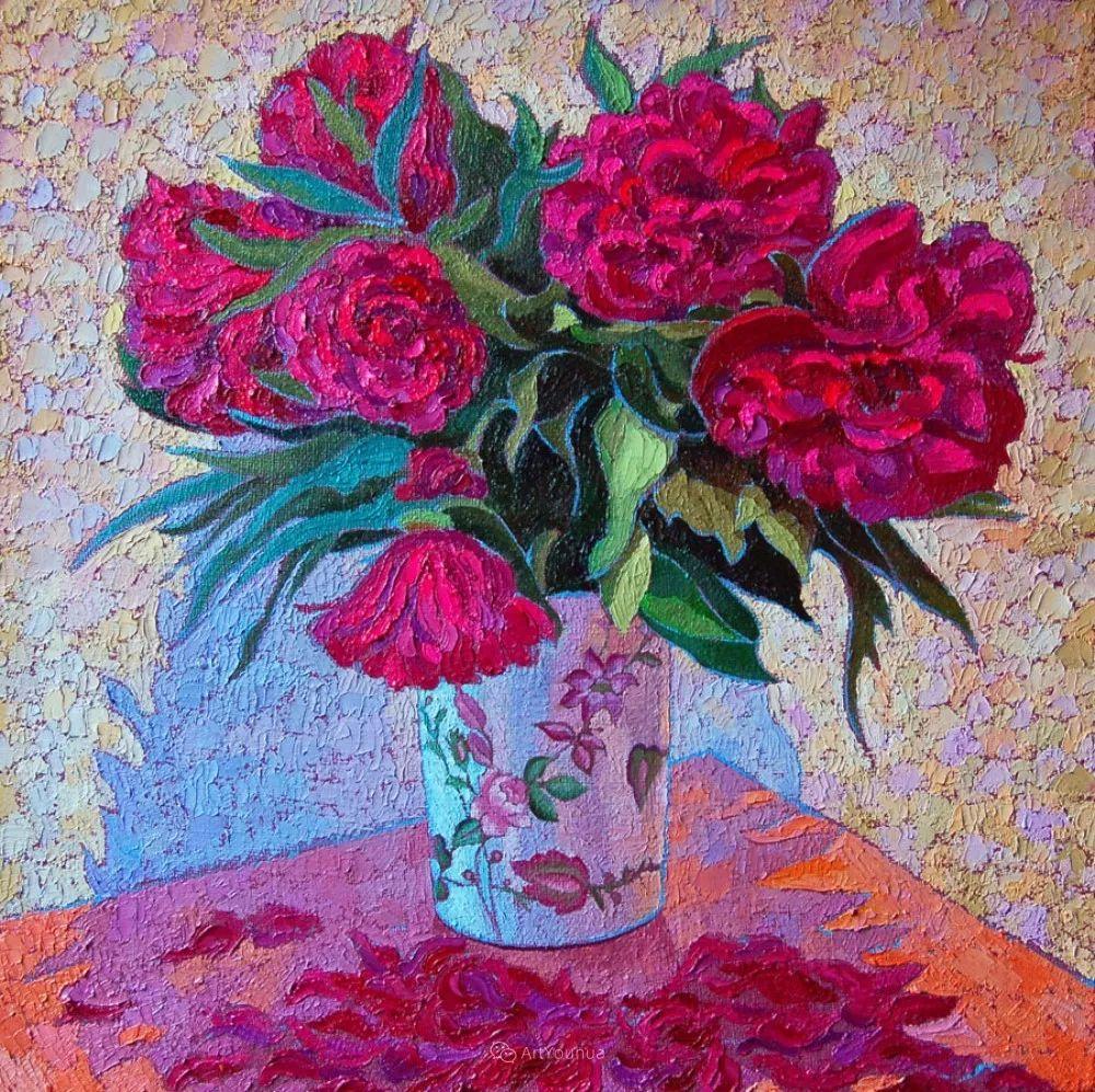 色彩纷繁的鲜花——乌克兰画家Dmitry Dobrovolsky插图41