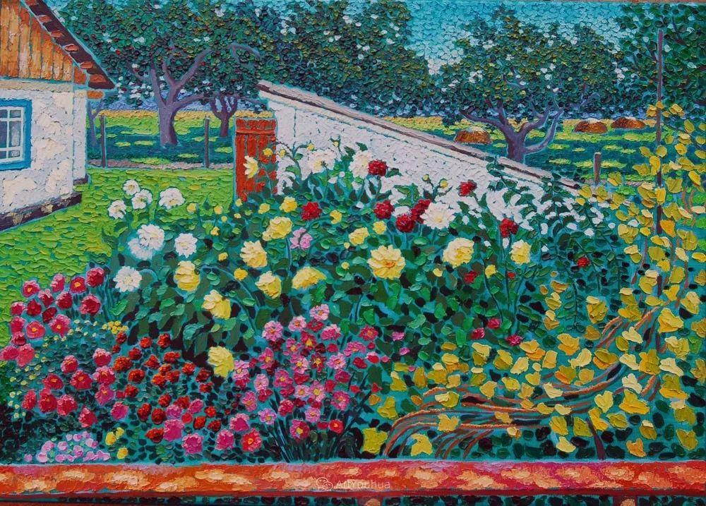 色彩纷繁的鲜花——乌克兰画家Dmitry Dobrovolsky插图45