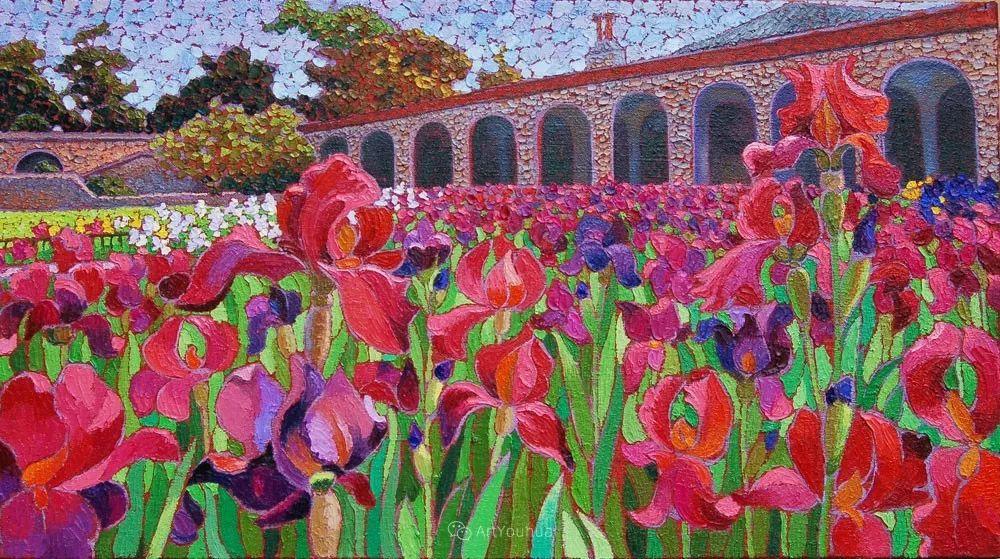 色彩纷繁的鲜花——乌克兰画家Dmitry Dobrovolsky插图53