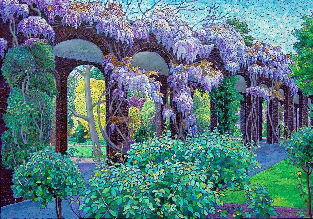 色彩纷繁的鲜花——乌克兰画家Dmitry Dobrovolsky插图59