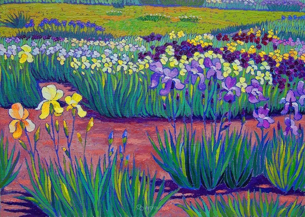 色彩纷繁的鲜花——乌克兰画家Dmitry Dobrovolsky插图63