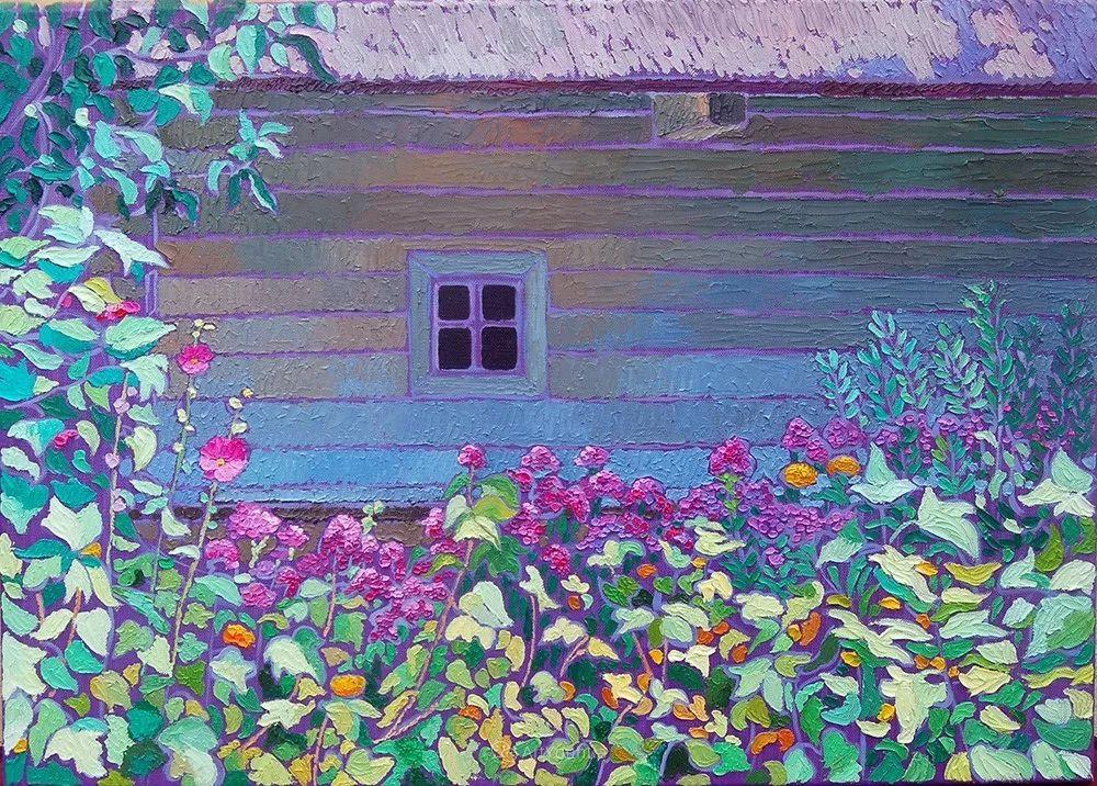 色彩纷繁的鲜花——乌克兰画家Dmitry Dobrovolsky插图69
