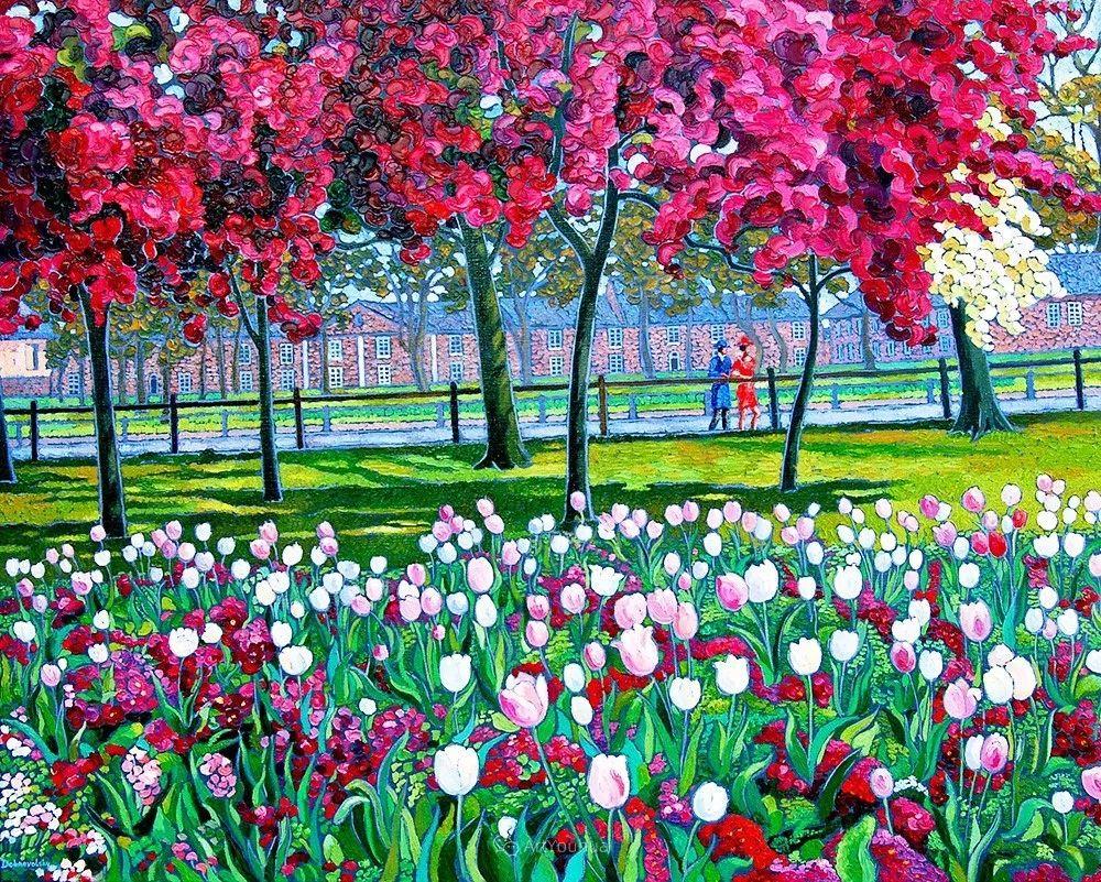 色彩纷繁的鲜花——乌克兰画家Dmitry Dobrovolsky插图71