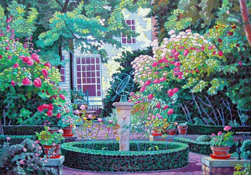 色彩纷繁的鲜花——乌克兰画家Dmitry Dobrovolsky插图85