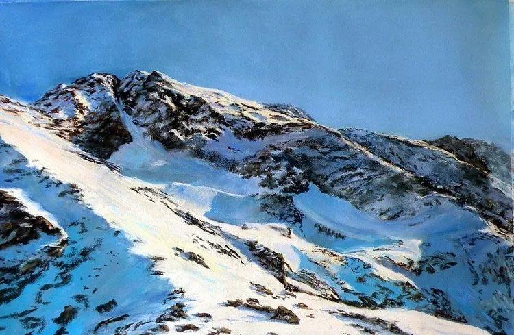 油画风景,德国籍意大利画家Lorenzo Rappelli插图
