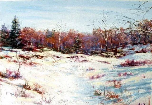 油画风景,德国籍意大利画家Lorenzo Rappelli插图4