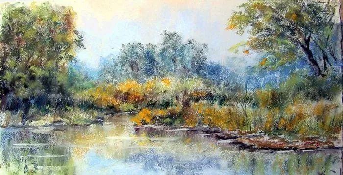 油画风景,德国籍意大利画家Lorenzo Rappelli插图9