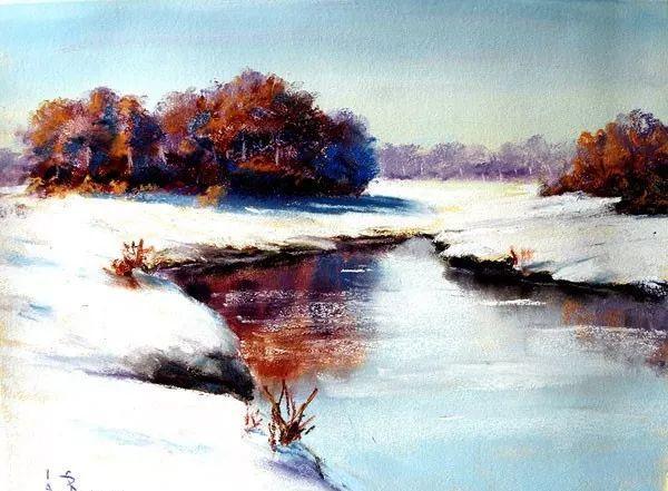 油画风景,德国籍意大利画家Lorenzo Rappelli插图12