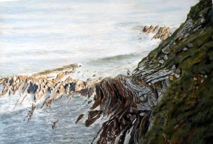 油画风景,德国籍意大利画家Lorenzo Rappelli插图18