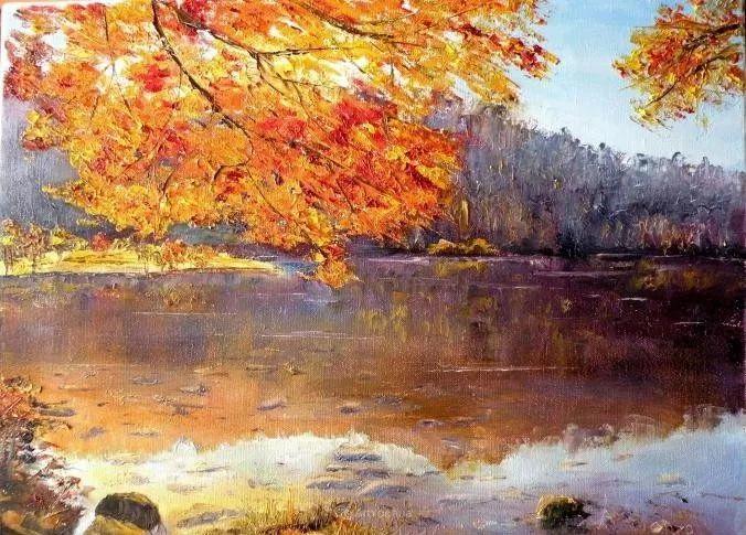 油画风景,德国籍意大利画家Lorenzo Rappelli插图21