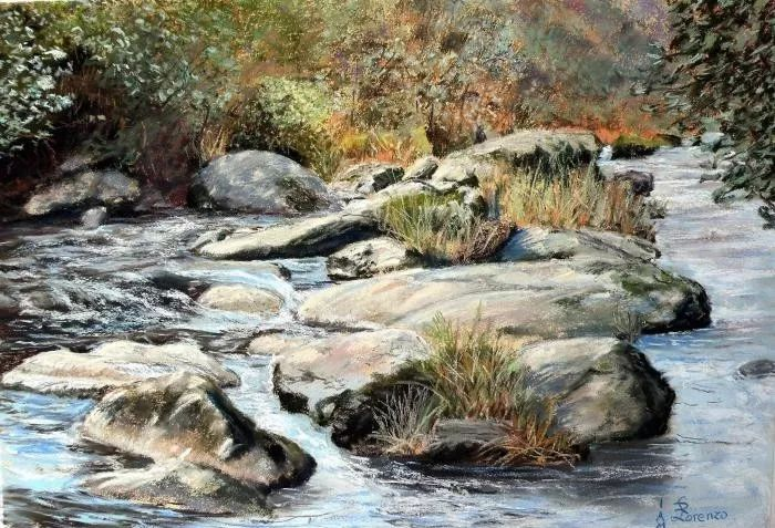 油画风景,德国籍意大利画家Lorenzo Rappelli插图24