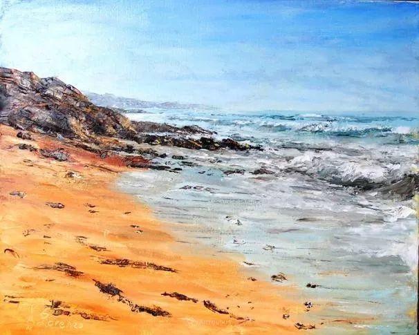 油画风景,德国籍意大利画家Lorenzo Rappelli插图25