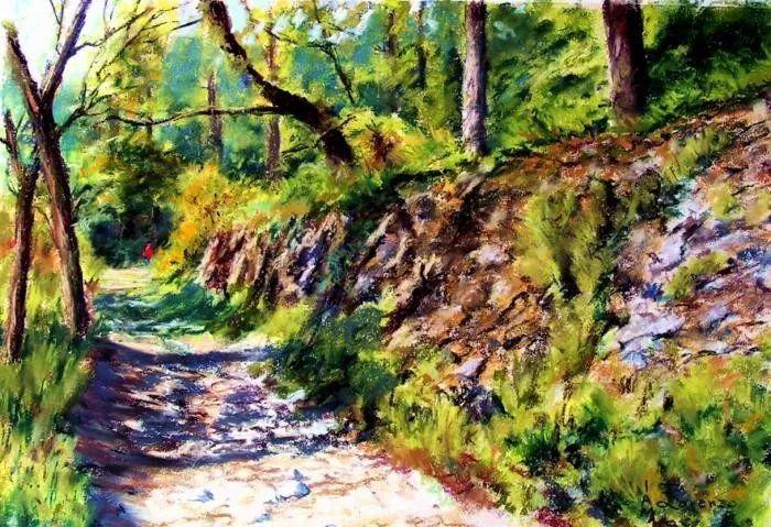 油画风景,德国籍意大利画家Lorenzo Rappelli插图30