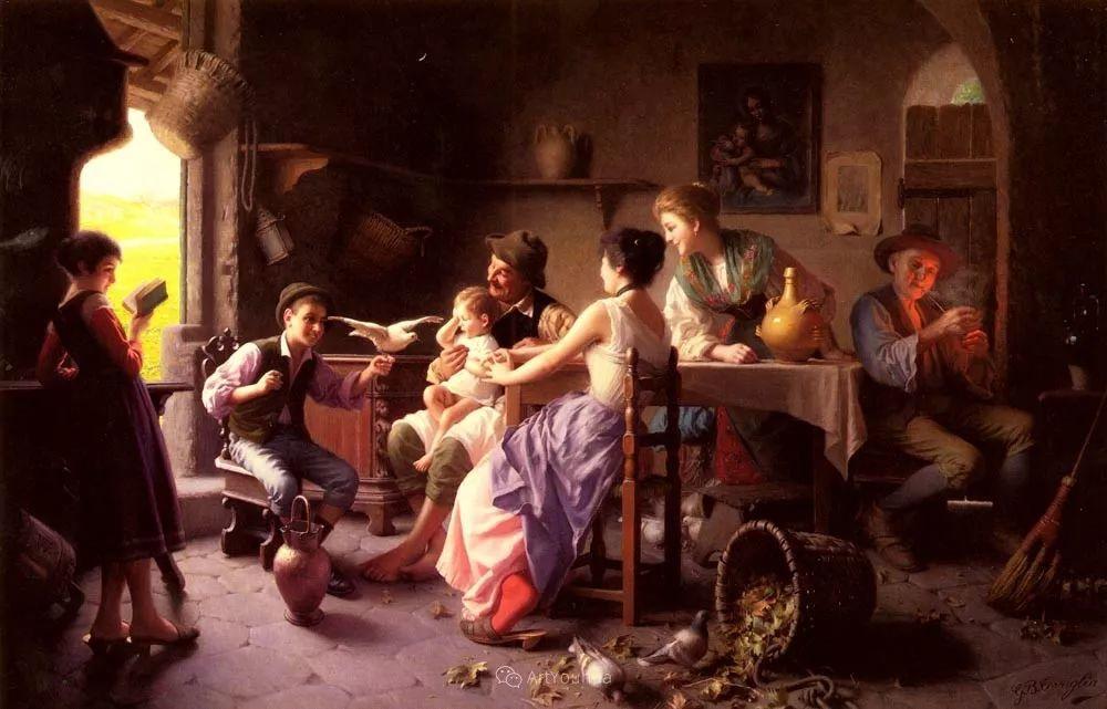 浓厚的生活气息,意大利画家Giovanni Battista Torriglia插图1