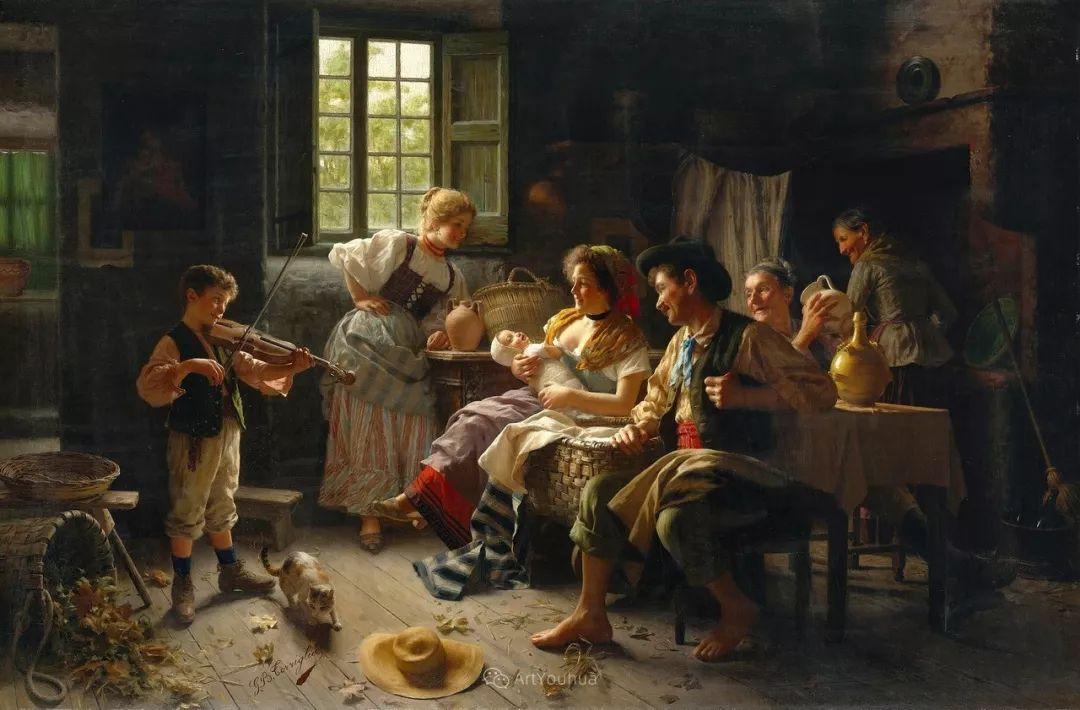 浓厚的生活气息,意大利画家Giovanni Battista Torriglia插图5