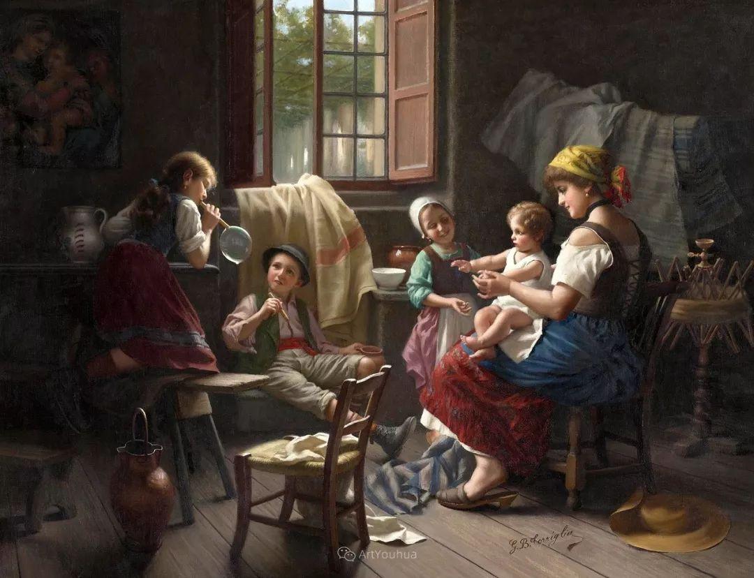 浓厚的生活气息,意大利画家Giovanni Battista Torriglia插图9