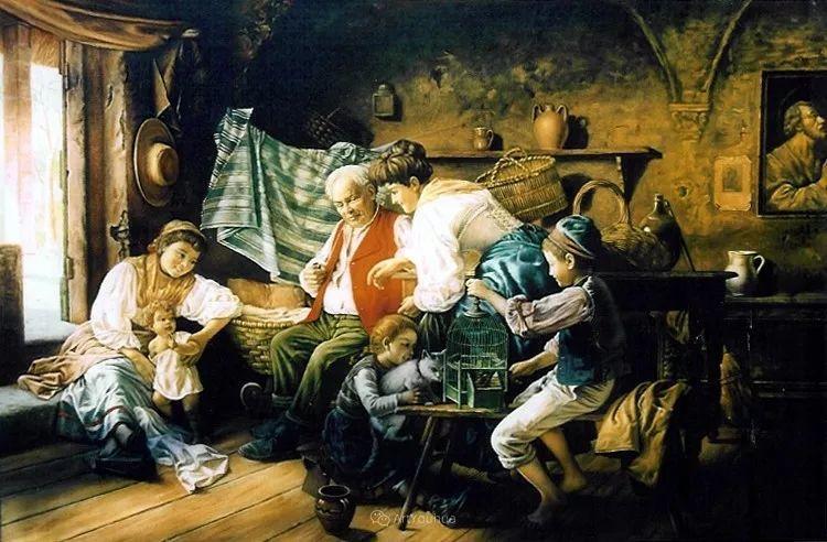 浓厚的生活气息,意大利画家Giovanni Battista Torriglia插图11