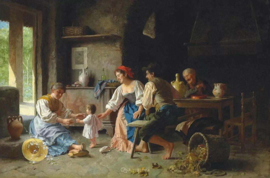 浓厚的生活气息,意大利画家Giovanni Battista Torriglia插图15