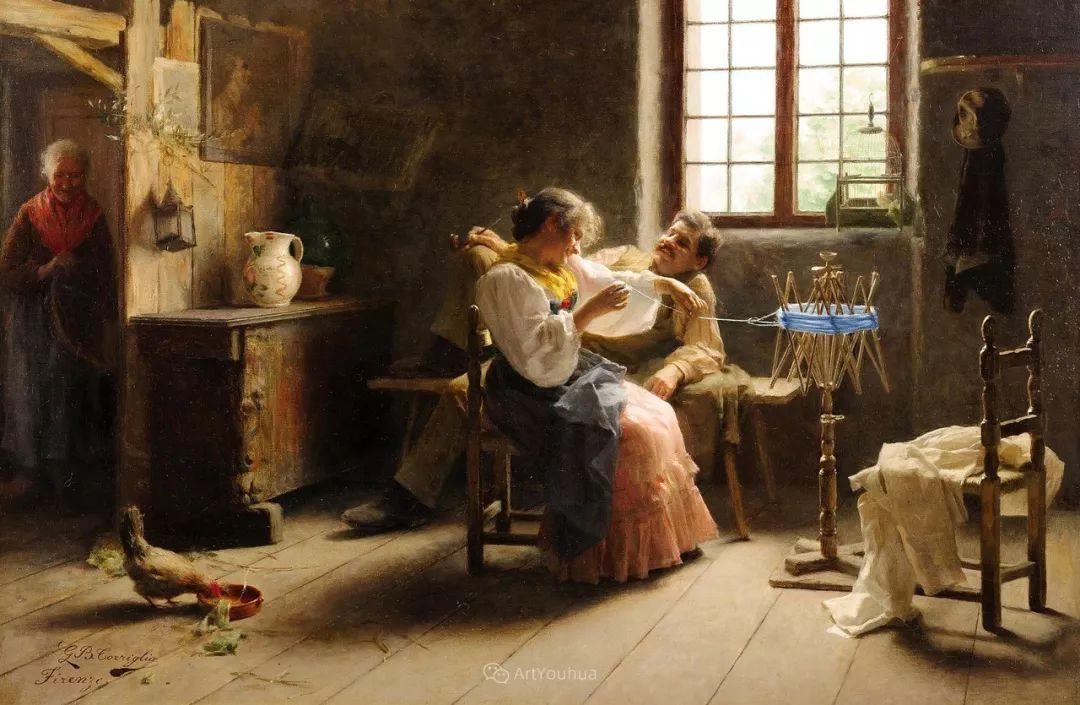 浓厚的生活气息,意大利画家Giovanni Battista Torriglia插图17