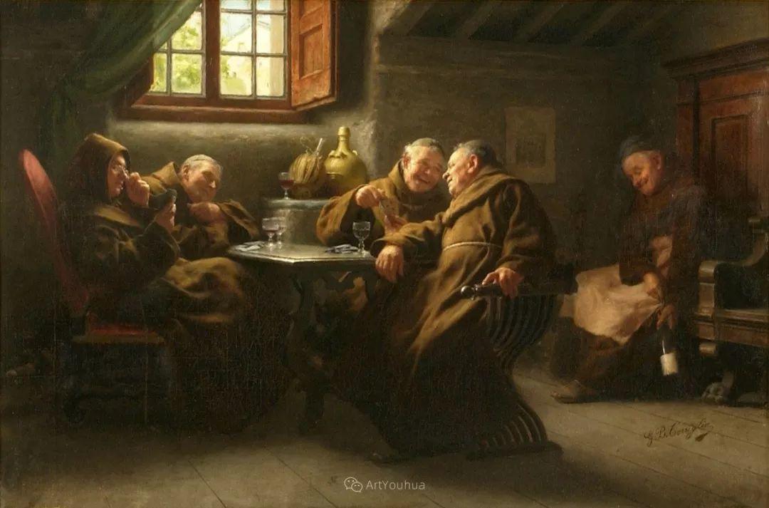 浓厚的生活气息,意大利画家Giovanni Battista Torriglia插图19
