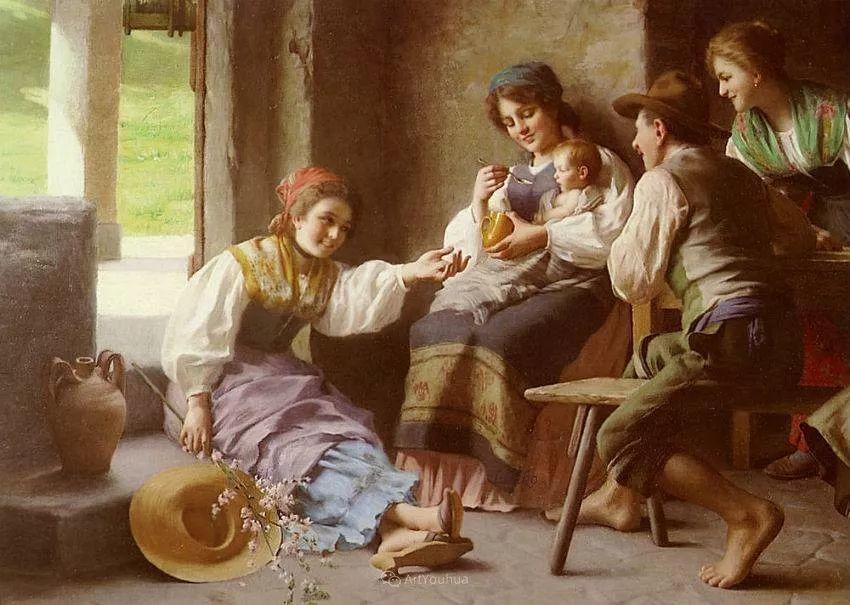 浓厚的生活气息,意大利画家Giovanni Battista Torriglia插图25