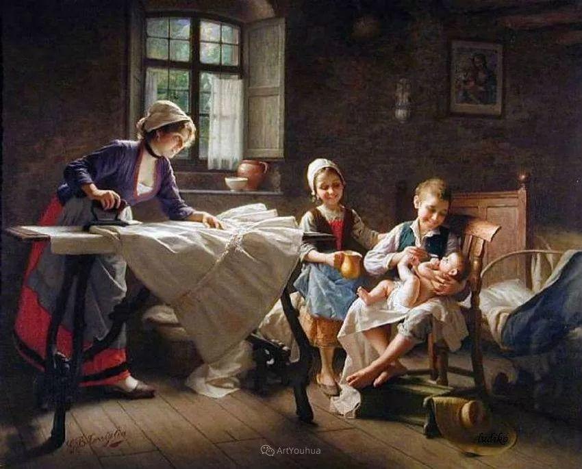 浓厚的生活气息,意大利画家Giovanni Battista Torriglia插图27