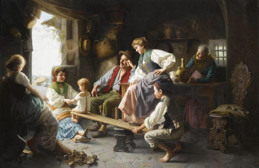 浓厚的生活气息,意大利画家Giovanni Battista Torriglia插图31