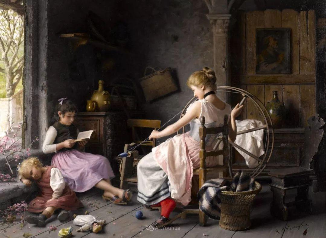 浓厚的生活气息,意大利画家Giovanni Battista Torriglia插图35
