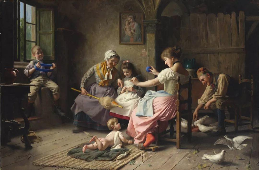 浓厚的生活气息,意大利画家Giovanni Battista Torriglia插图37