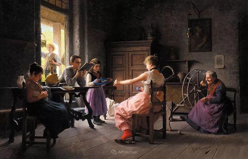 浓厚的生活气息,意大利画家Giovanni Battista Torriglia插图39