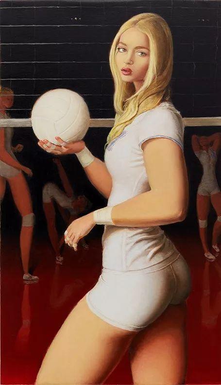 画家把美女的腿画成这样,有劲吗?插图9