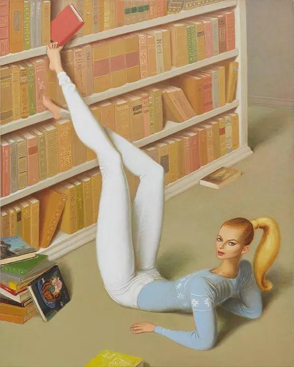 画家把美女的腿画成这样,有劲吗?插图11