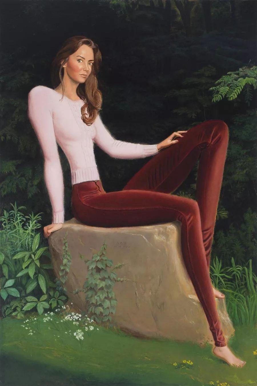 画家把美女的腿画成这样,有劲吗?插图15