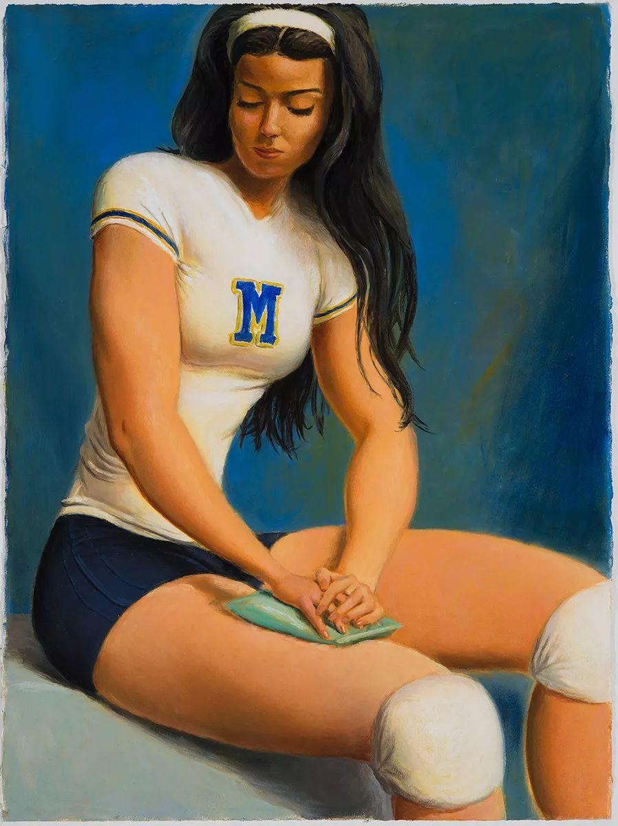 画家把美女的腿画成这样,有劲吗?插图37