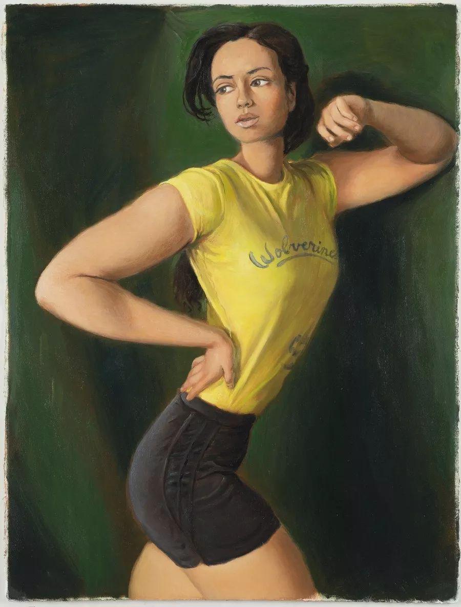 画家把美女的腿画成这样,有劲吗?插图43