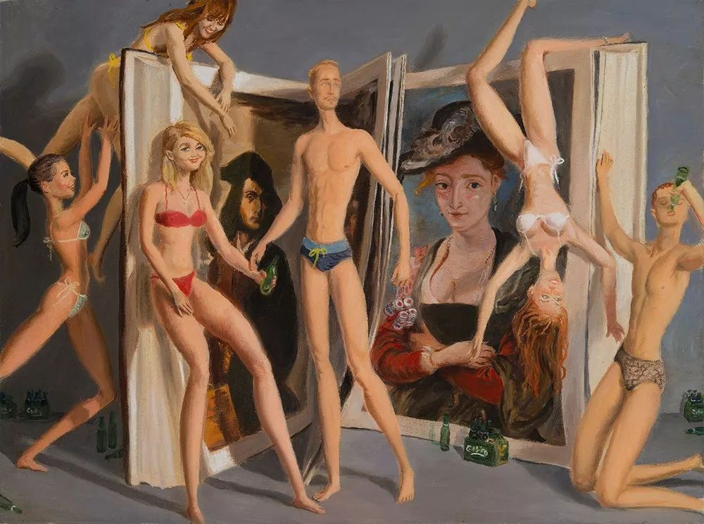 画家把美女的腿画成这样,有劲吗?插图69
