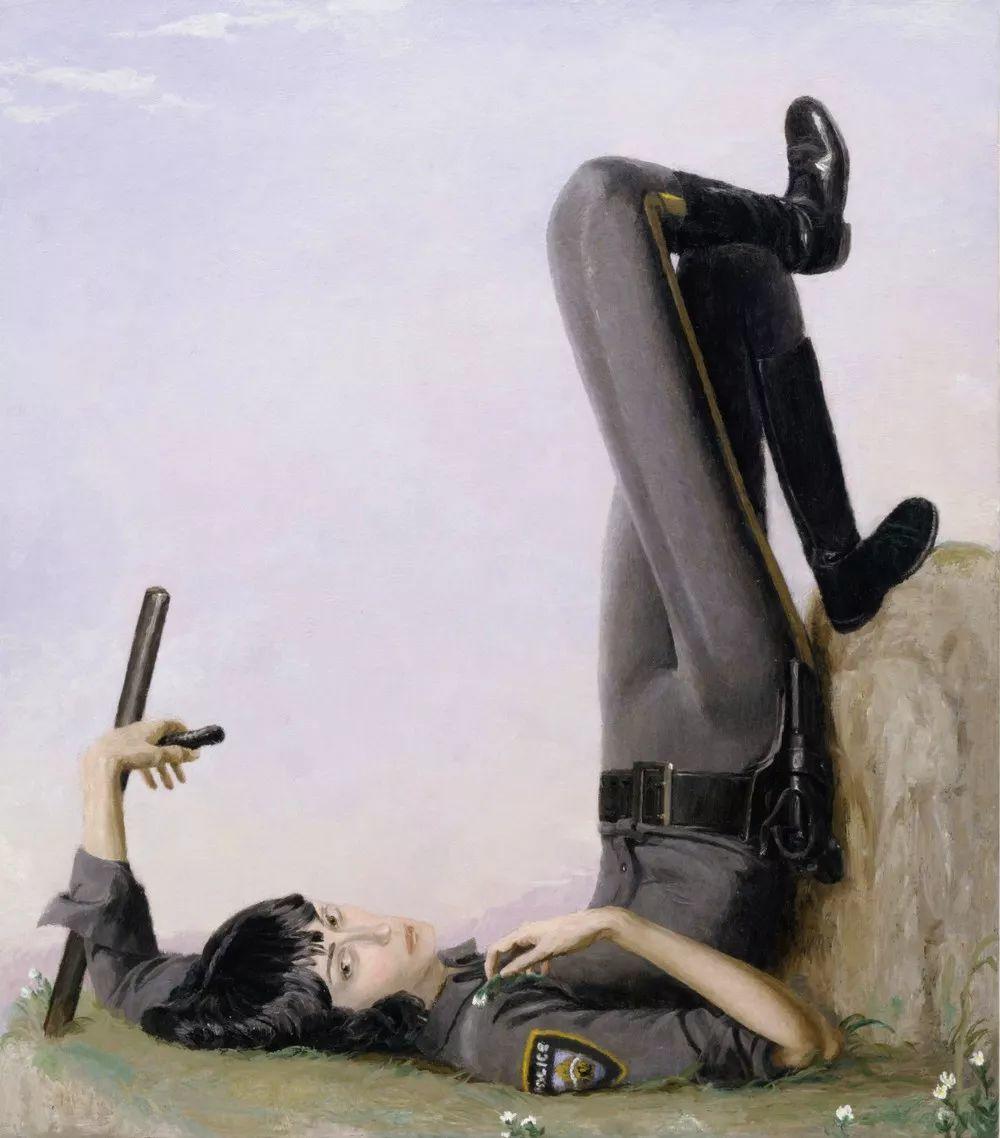 画家把美女的腿画成这样,有劲吗?插图133