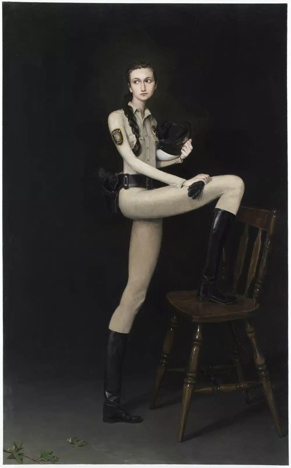 画家把美女的腿画成这样,有劲吗?插图135