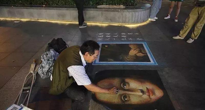 """凭本事吃饭的人,从来不会觉得卑微!中国的""""流浪达芬奇"""",画了800多次蒙娜丽莎!插图41"""